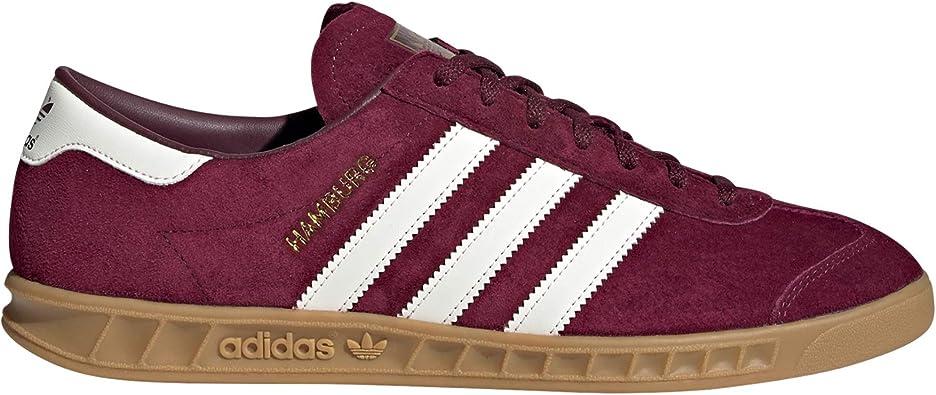 Memorizar exposición Desgracia  Adidas Hamburg Maroon, Off White & Gum-44: Amazon.es: Zapatos y complementos