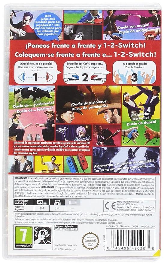 1 2 Switch Nintendo Switch Nintendo Amazon Es Videojuegos