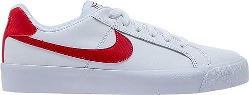 872398ca6c Nike Men s Court Royale AC White University Red Sneakers (BQ4222-100 ...