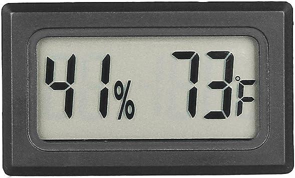 Mini Digital LCD Thermometer Hygrometer Temperatur Luftfeuchtigkeitsmesser Home