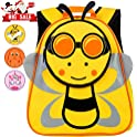 "Toddler 12"" Bee Preschool Backpack for Boys"