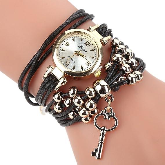 Para mujer pulsera relojes Cooki - Teen Girls moda minimalista Casual cuarzo pulsera muñeca relojes de venta aclaramiento X26: Amazon.es: Relojes