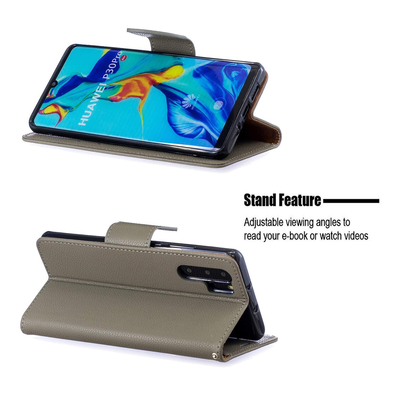 Amazon.com: Huawei P30 Pro Case, Lomogo Leather Wallet Case ...