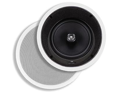 Amazon Com Monoprice Caliber In Ceiling Speakers 8 Inch Fiber 2 Way