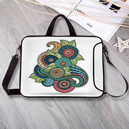 Amazon com: Doodle Anti-Seismic Neoprene Laptop Bag,Ethnic