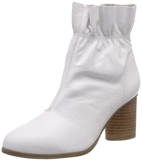 Bianco Leather Boot, Botines para Mujer: Amazon.es: Zapatos y complementos