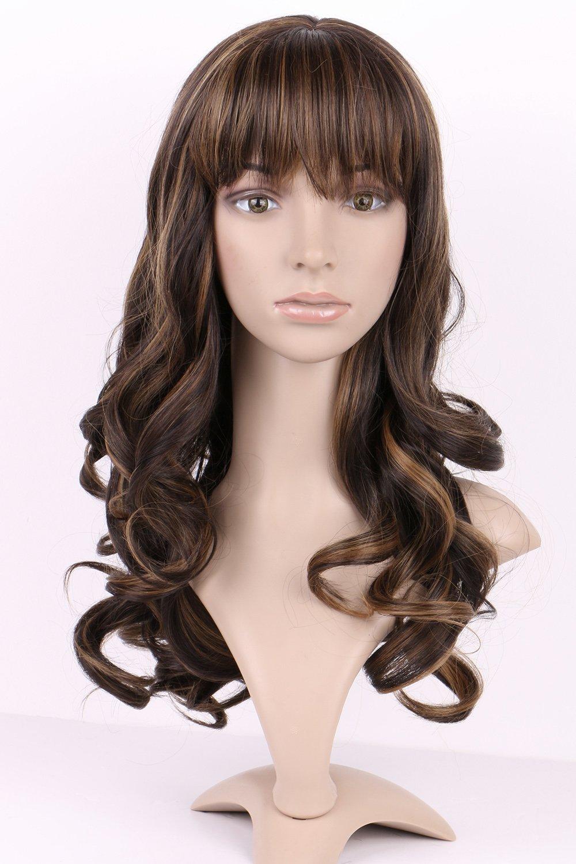 Leorx wig cap unisex stocking wig hairnet cap snood 2 pack skin s noilite 1743cm long full wigs curly wavy wave dark brown pmusecretfo Images