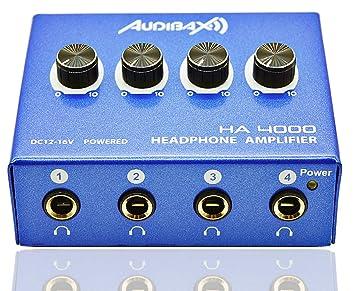 Audibax HA4000, Amplificador Auriculares