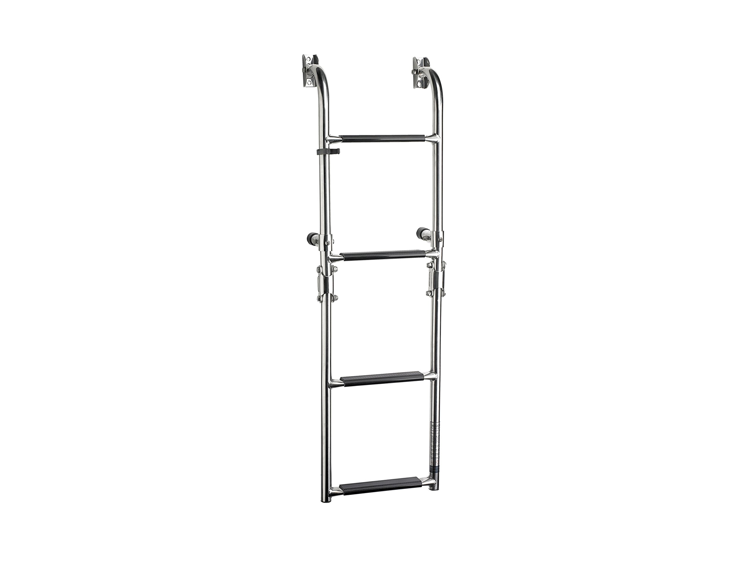 Five Oceans 4 Steps Stainless Steel Boarding Stern/transom Mount Boat Ladder - BC 3529