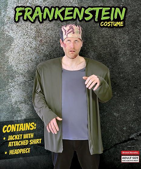 Frankenstein - Disfraz de monstruo adultos, talla 10 (AC970)