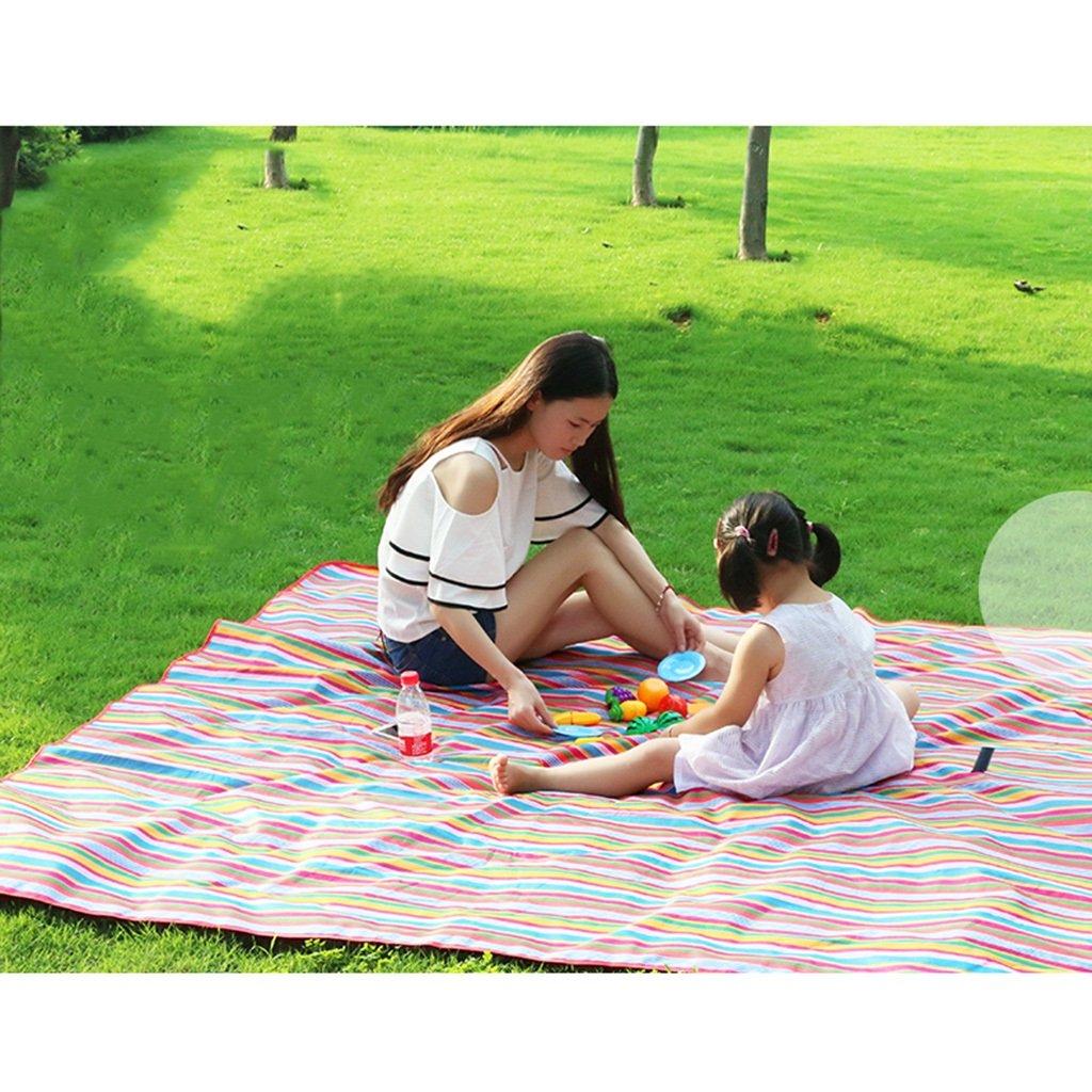 YOTA HOME Picknick-Matte Picknick-Matte Picknick-Matte Picknick-Matte Tragbare Zusammenklappbare Feuchtigkeitsdichten Pad Picknick Aus Teppich Kissen Dicken Feld 200  200 cm, Picknickdecken B07B8GYQ7W   Sehr gute Farbe  487321