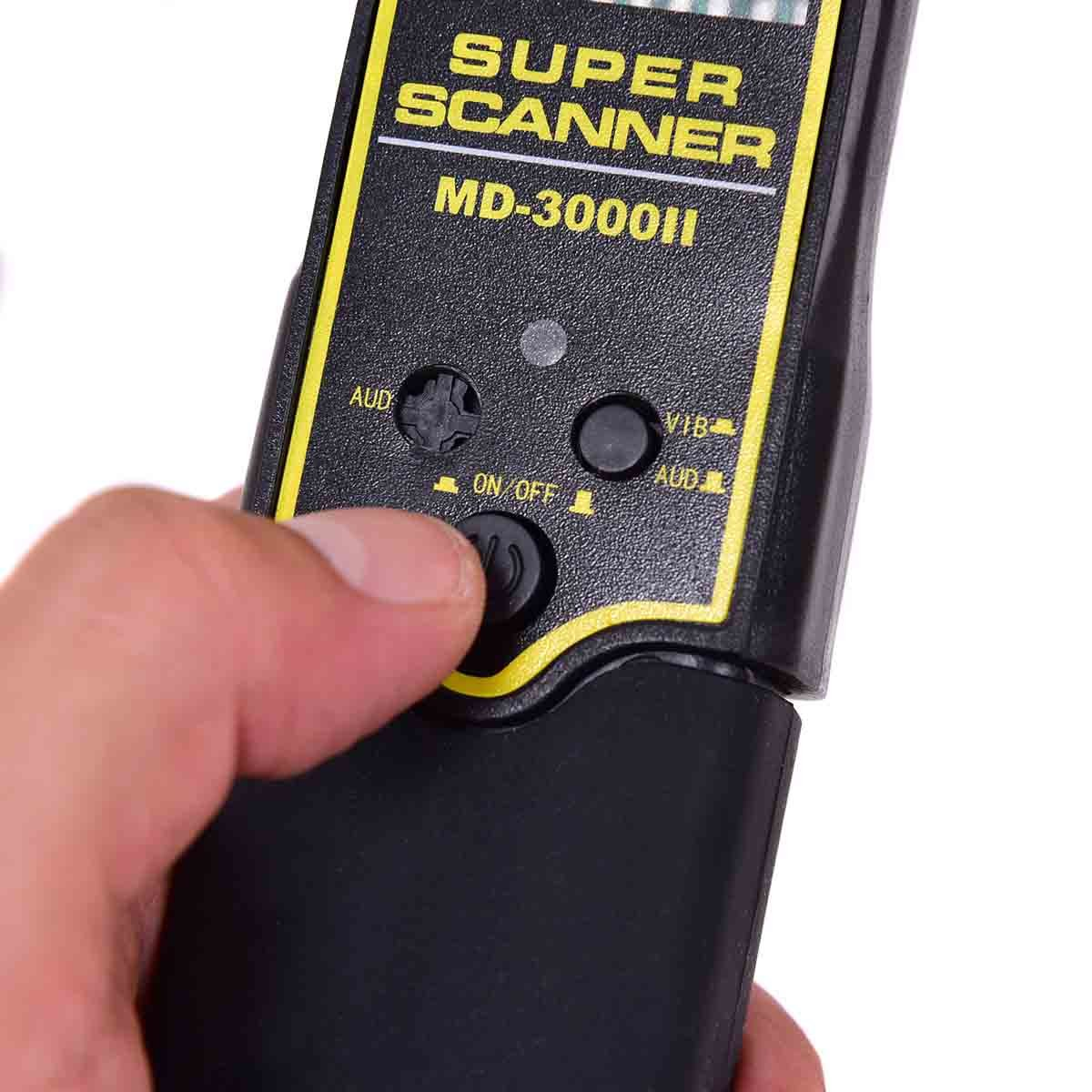 Amazon.com : Toolsempire Hand Held Scanner Metal Detector High Sensitivity Metal Scanner Alarm and Vibration Super Scanner Metal Finder : Garden & Outdoor