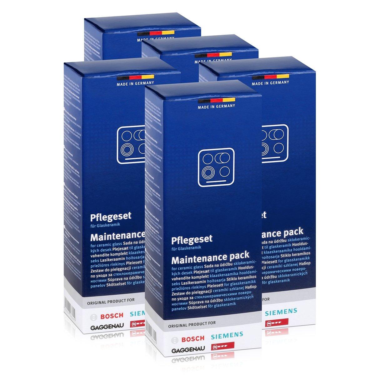 5x Kit de mantenimiento Bosch / Siemens para placas de ...