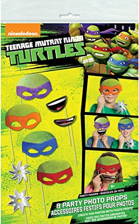 Fête D/'anniversaire Fournitures Ninja gobelets en papier 8 Ct