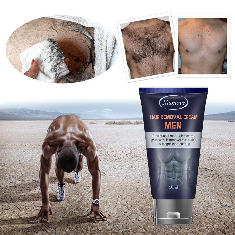 Amazon.com: Crema depilatoria para hombres, crema ...