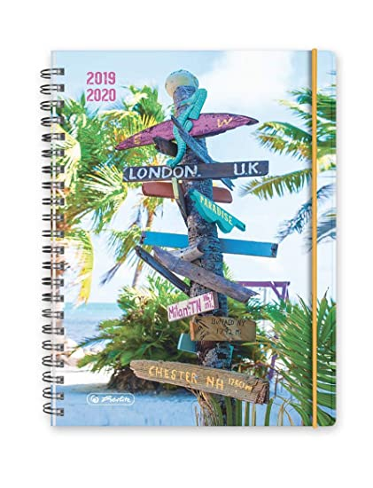 Herlitz - Agenda escolar 2019-2020, formato A5: Amazon.es ...