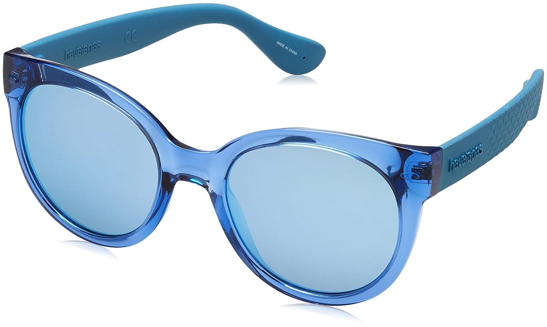 Havaianas Noronha Gafas de sol, Azul (Blue Aqua), 52 para Mujer