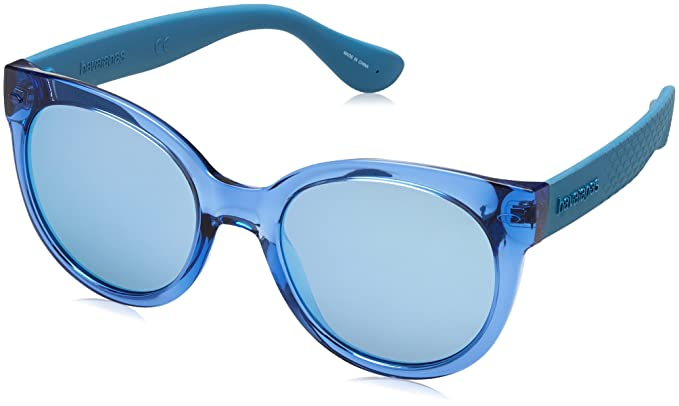 Havaianas Sunglasses Noronha, Gafas de Sol para Mujer, Azul (Blue Aqua),