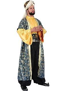 chiber Disfraces Disfraz Rey Mago Baltasar: Amazon.es ...
