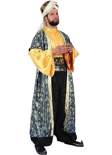 chiber Disfraces Disfraz Rey Mago Melchor: Amazon.es: Juguetes y ...