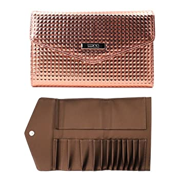 975672c171f0 Brush Master Makeup Brush Rolling Case Pouch holder Cosmetic bag organizer  Travel Portable 12 pockets Cosmetics
