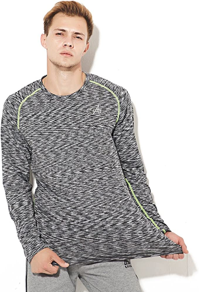 YUNY Mens Long-Sleeved Slim Fit Striped Casual Casual Shirt Blue XL