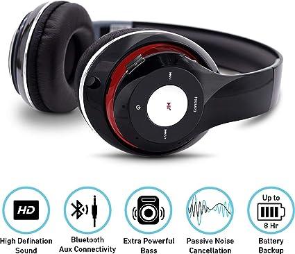 650aefd88f8 ISKCON Jagannath BTHP001_BK itek HD Wireless Headphones: Amazon.in ...