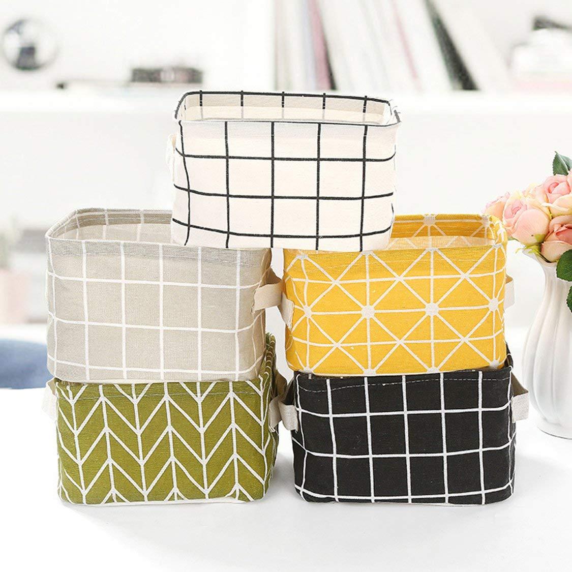 Fabric Storage Basket Large Basket for Toy Washing Basket Dirty Clothes Sundries Home Storage Baskets Box