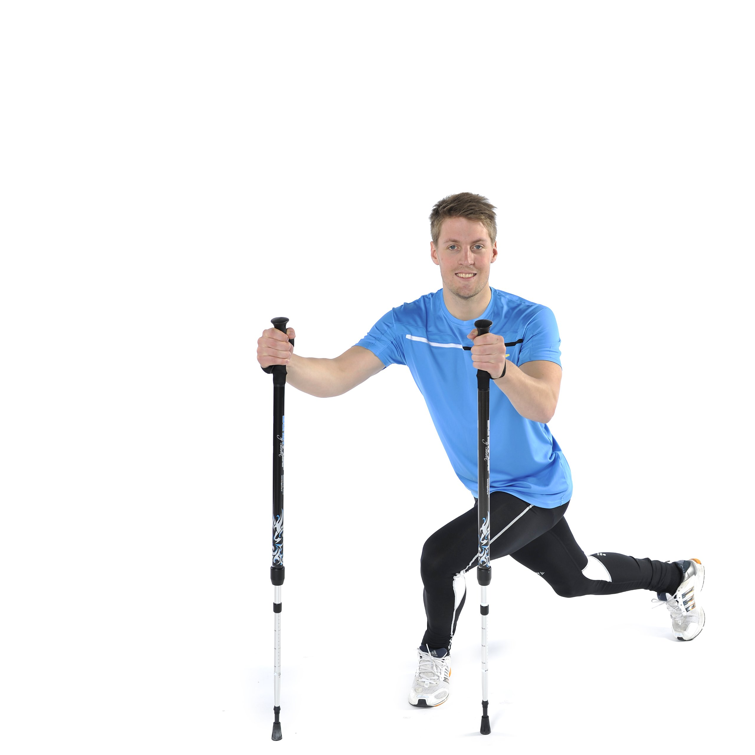 BungyPump Energy - Fitness Walking Poles with 13.2 lbs of Built-in Resistance, Easy Weight Loss while Walking, Used in The Biggest Loser by BungyPump (Image #4)