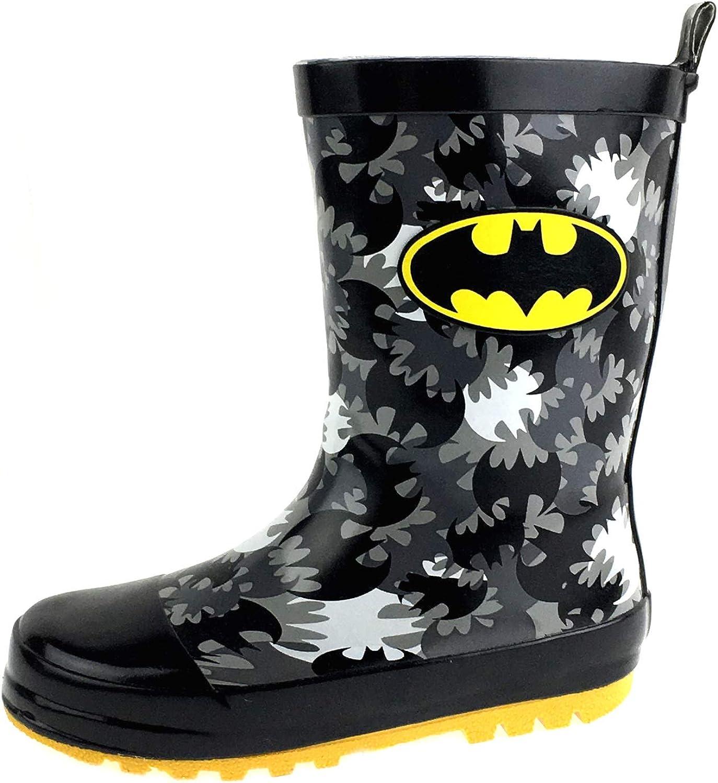 Batman Wellington Boots Kids DC Comics Snow Rain Boots Wellies Shoes Kids Size