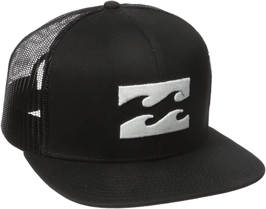 c74de1fcf39 Amazon.com  Billabong Men s All Day Adjustable Snapback Trucker Hat ...
