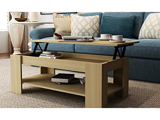 Oak Lift Top Coffee Table With Storage U0026 Shelf   Perfect Coffee Tables For  Any Hallway