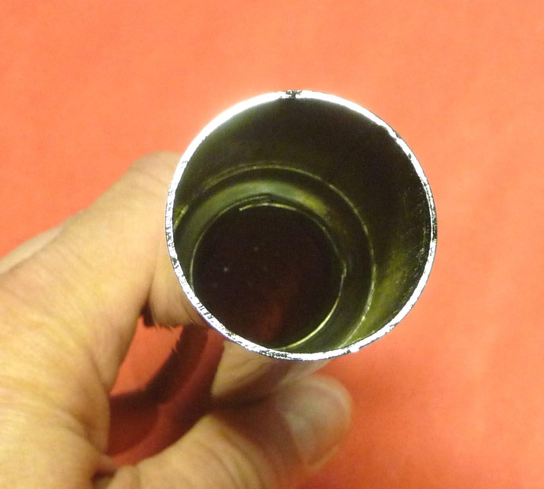 2-ST/ÜCK Endrohre 250mm f/ür SERIEN AUSPUFF in HOCHGLANZ CHROM