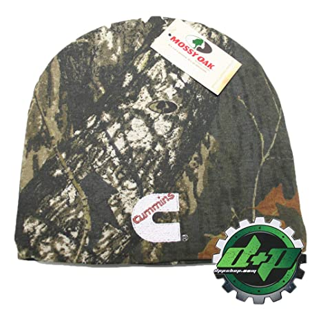 Amazon.com  Cummins Diesel Mossy Oak Camouflage Winter Beanie Cap  Sports    Outdoors e3593a0ed9a5