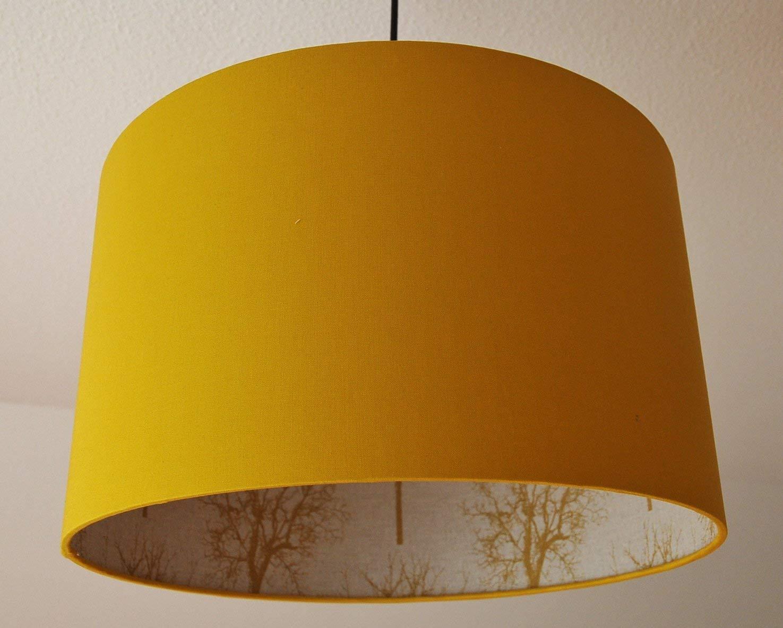 LampenschirmBaum-senfgelb D 30cm. Farbe und Größe auf Anfrage