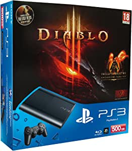 PlayStation 3 - Consola 500 GB + Diablo III + The Last Of Us ...