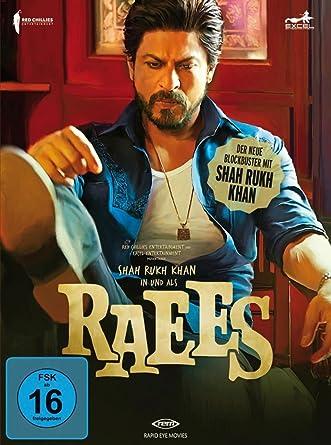 Amazoncom Raees Dvd Poster Shahrukh Khan Mahira Khan