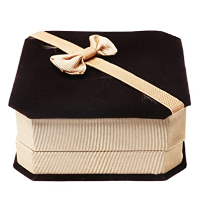 54b7767fe0e Buy Coffee2  Cocotop 1X Small Octagonal Box Jewelry Box Gift Box Online at  Low Prices in India