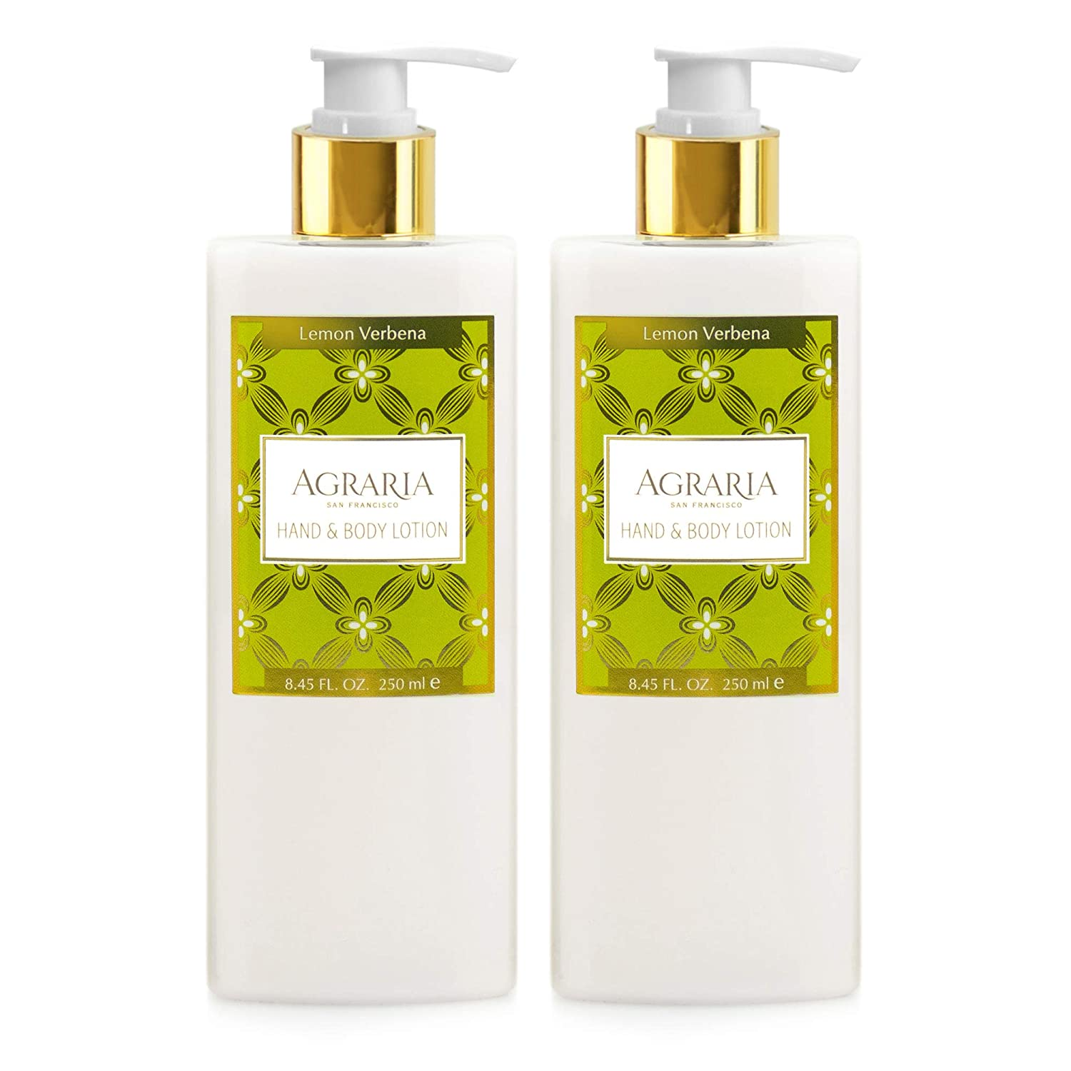 AGRARIA Lemon Verbena Hand and Body Lotion Duo