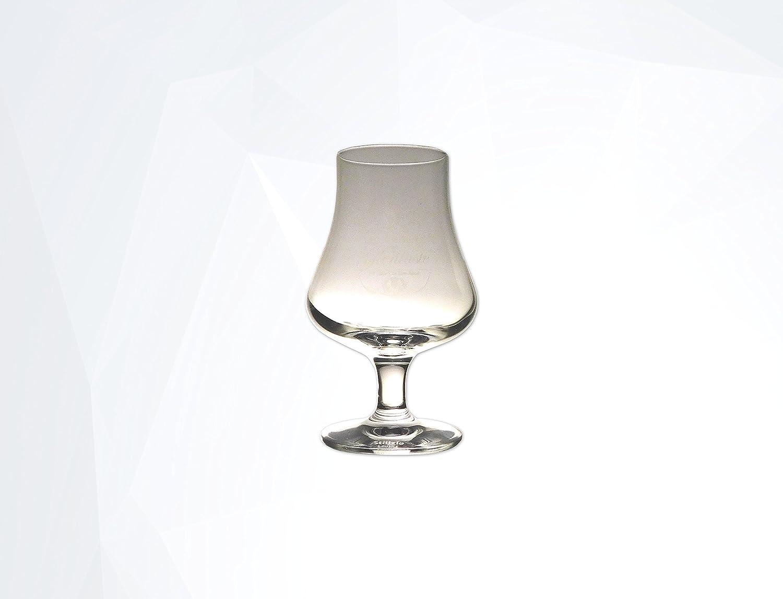 Glentaste Whisky Nosing Glas 6er Set Tasting Glas St/ölzle Lausitz Elegantes Whiskeyglas mit Aufdruck der Whiskymarke Set 6 St/ück