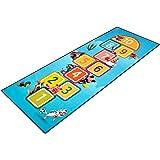Sharellon Kids Playmat Hopscotch Rugs - Figures and Animals Non Slip Kids Play Area Rugs Nursery Climbing Floor Playmat Fun &