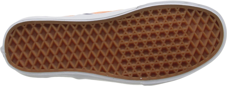 Vans U Classic Slip-on, Baskets mode mixte adulte Orange Canteloupe True White