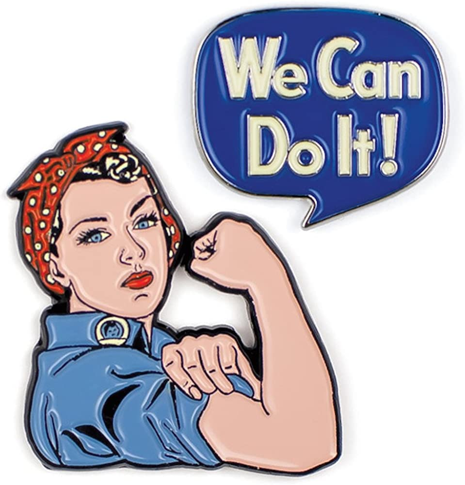 Rosie The Riveter Amazon Peccy Collector Pin NEW Amazonian Free Shipping