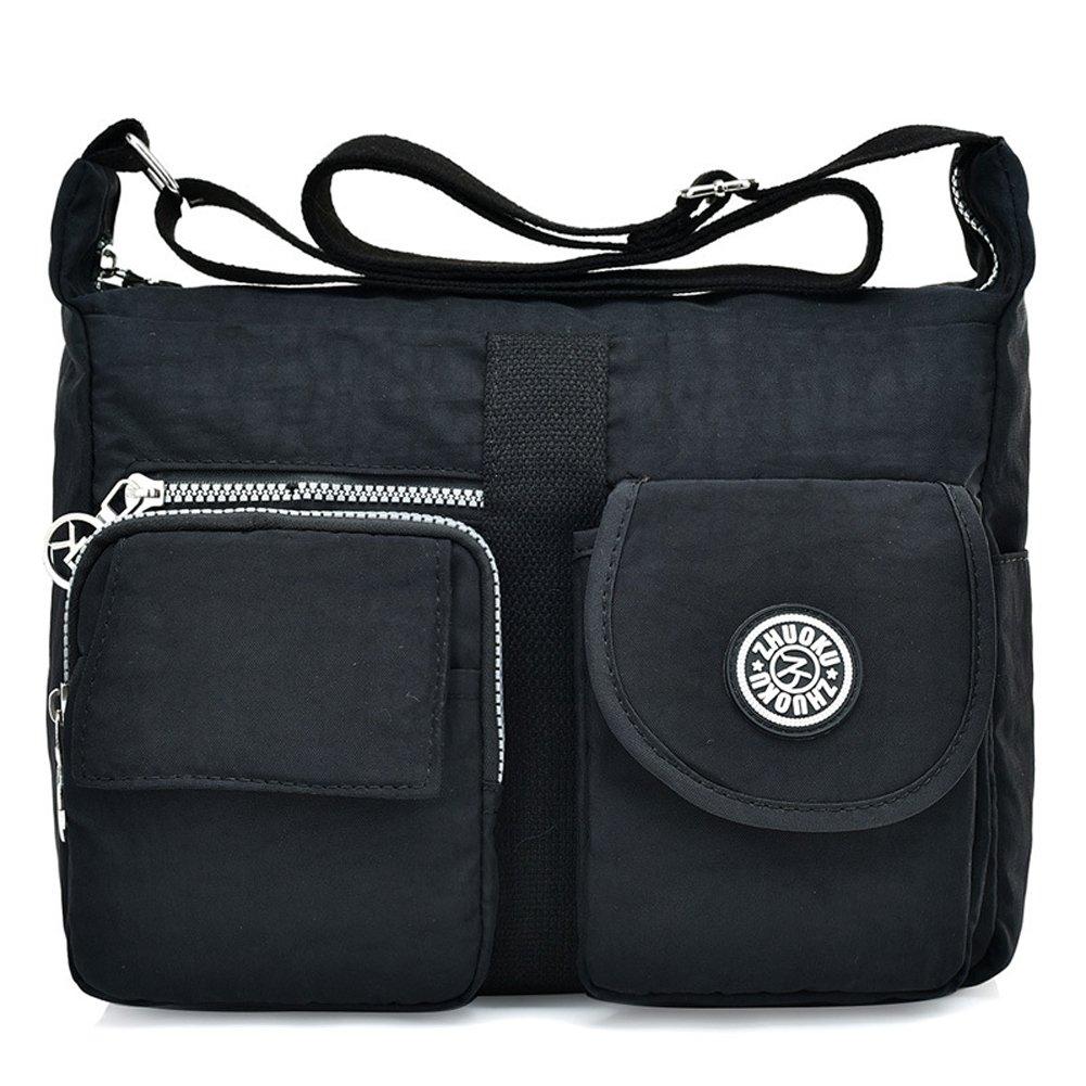 b880c751a2d6 Toniker Women's Shoulder Bags Casual Handbag Travel Bag Messenger Cross  Body Waterproof Nylon Bags
