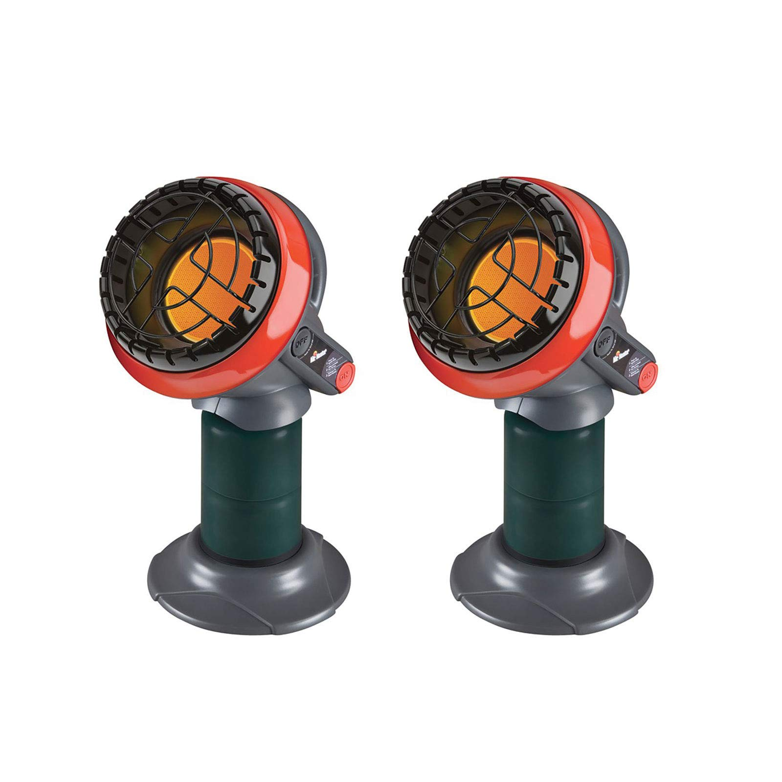 Mr. Heater 3800 BTU Indoor Outdoor Portable Little Buddy Propane Heater (2 Pack) by Mr. Heater