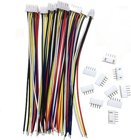 5 pcs XT-60 XT60 Female Connector Plug 15cm Silicon Wire RC Lipo Li-ion battery