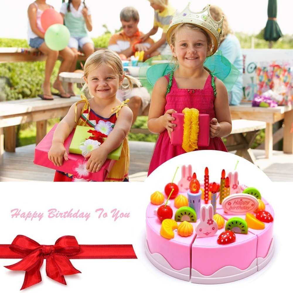 Amazon Singing Birthday Cake Toy With Light And Sound Sings