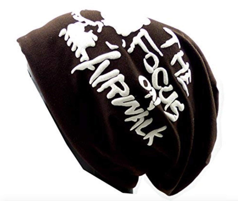 Stoffmütze Totenkopf Long Beanie Winter Skull Urban Beanie Killer Chill Wear Summer Black Head HX3