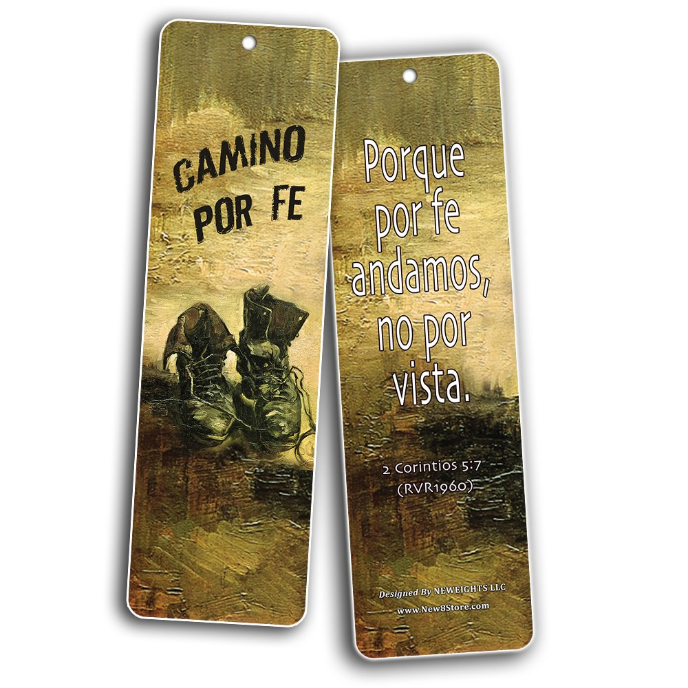 Spanish Favorite Bible Verses Bookmarks (60 Pack) - Bulk Collection & Gift with Inspirational, Motivational, Encouragement Messages by NewEights (Image #5)