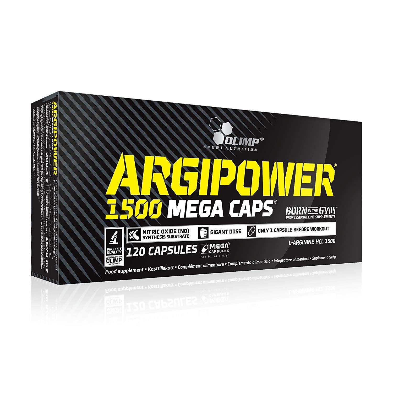 Olimp Sport Nutrition Argi Power Mega Caps 1500 - 120 caps